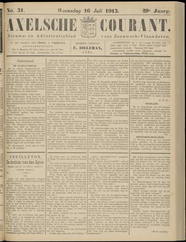 Axelsche Courant 1913-07-16