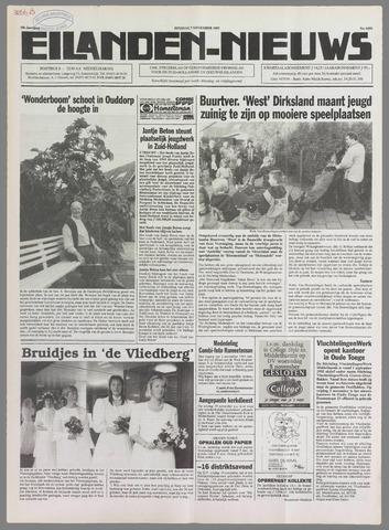 Eilanden-nieuws. Christelijk streekblad op gereformeerde grondslag 1995-11-07