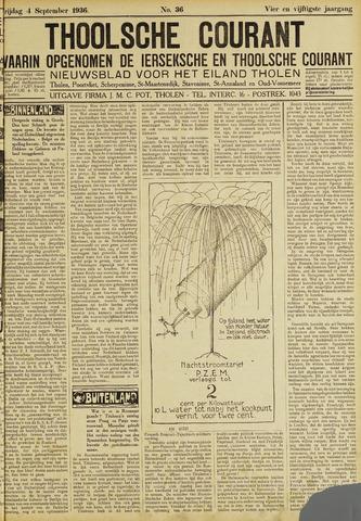 Ierseksche en Thoolsche Courant 1936-09-04