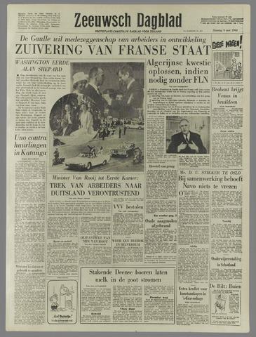 Zeeuwsch Dagblad 1961-05-09