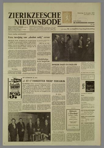 Zierikzeesche Nieuwsbode 1973-12-13