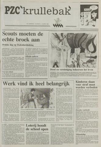 Provinciale Zeeuwse Courant katern Krullenbak (1981-1999) 1994-04-12