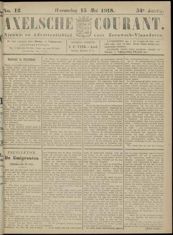 Axelsche Courant 1918-05-15