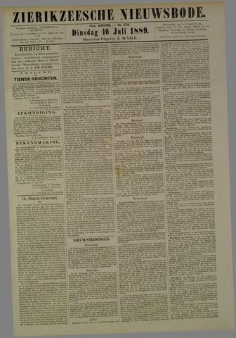Zierikzeesche Nieuwsbode 1889-07-16