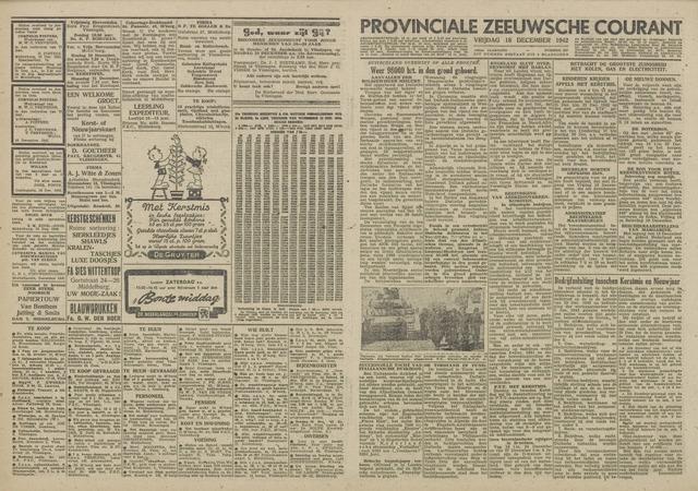 Provinciale Zeeuwse Courant 1942-12-18