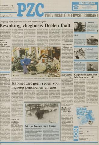 Provinciale Zeeuwse Courant 1992-02-04