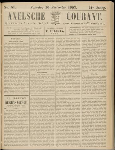 Axelsche Courant 1905-09-30