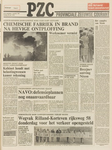 Provinciale Zeeuwse Courant 1974-06-28