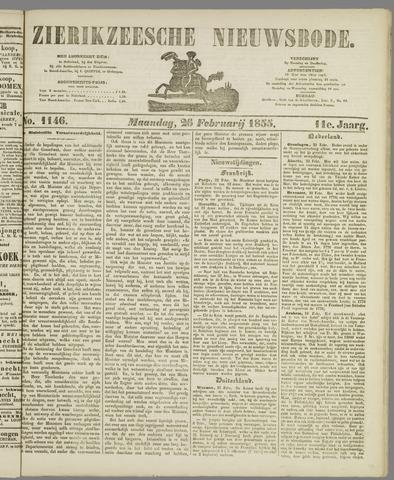 Zierikzeesche Nieuwsbode 1855-02-26