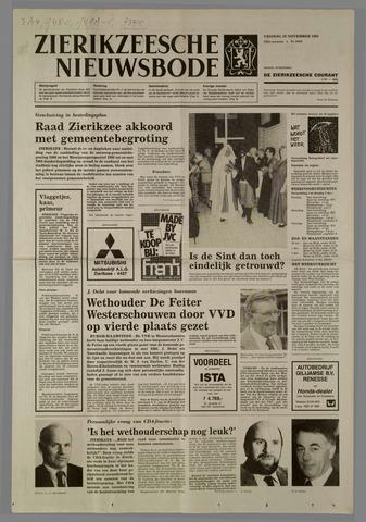 Zierikzeesche Nieuwsbode 1985-11-29