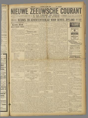 Nieuwe Zeeuwsche Courant 1924-04-19