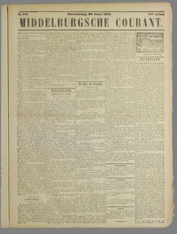 Middelburgsche Courant 1919-06-26