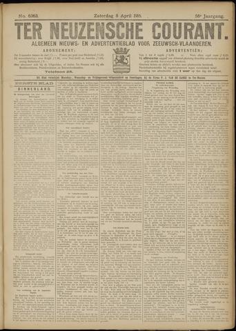 Ter Neuzensche Courant. Algemeen Nieuws- en Advertentieblad voor Zeeuwsch-Vlaanderen / Neuzensche Courant ... (idem) / (Algemeen) nieuws en advertentieblad voor Zeeuwsch-Vlaanderen 1916-04-08