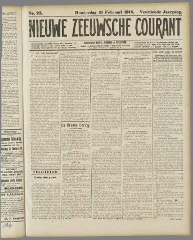 Nieuwe Zeeuwsche Courant 1918-02-21