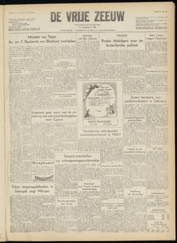 de Vrije Zeeuw 1956-03-28