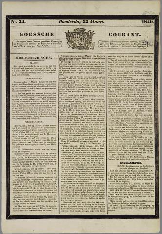 Goessche Courant 1849-03-22