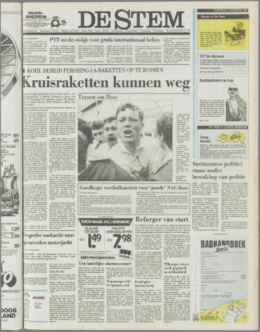 de Stem 1987-08-27