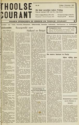 Ierseksche en Thoolsche Courant 1949-12-02