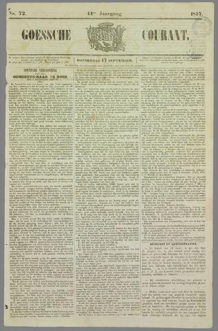 Goessche Courant 1857-09-17