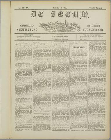 De Zeeuw. Christelijk-historisch nieuwsblad voor Zeeland 1898-06-30