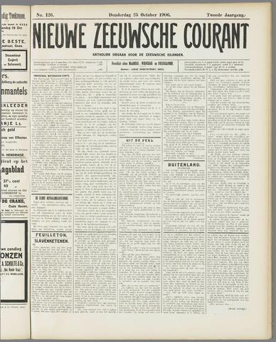 Nieuwe Zeeuwsche Courant 1906-10-25