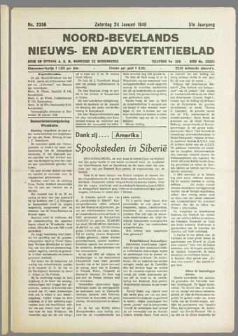 Noord-Bevelands Nieuws- en advertentieblad 1948-01-24