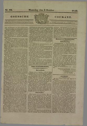 Goessche Courant 1842-10-03