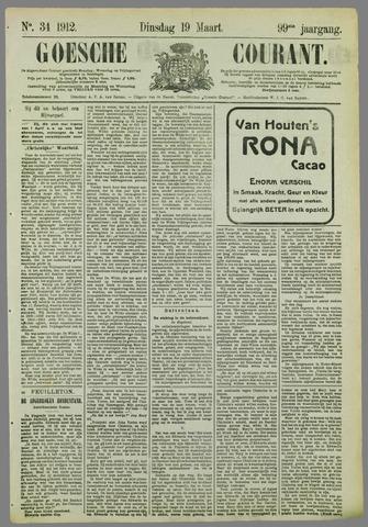 Goessche Courant 1912-03-19