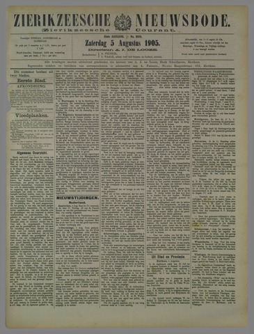 Zierikzeesche Nieuwsbode 1905-08-05