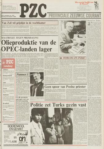 Provinciale Zeeuwse Courant 1984-10-30