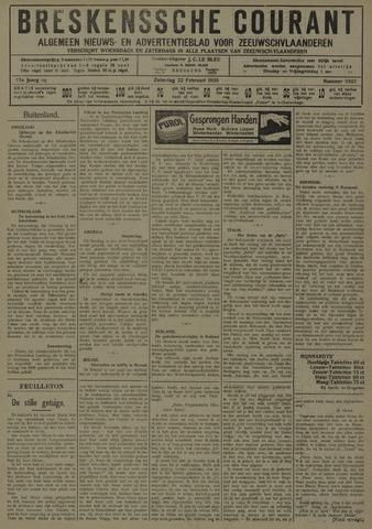 Breskensche Courant 1930-02-22
