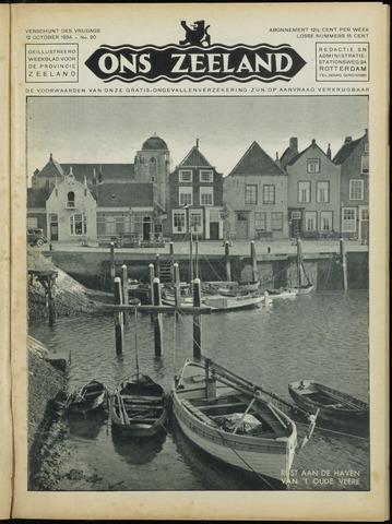 Ons Zeeland / Zeeuwsche editie 1934-10-12