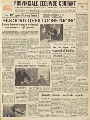 Provinciale Zeeuwse Courant 1963-10-30