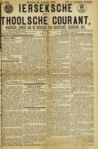 Ierseksche en Thoolsche Courant 1908-08-22
