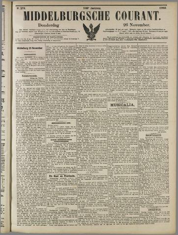 Middelburgsche Courant 1903-11-26