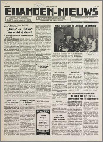 Eilanden-nieuws. Christelijk streekblad op gereformeerde grondslag 1980-01-22