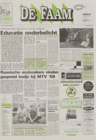 de Faam en de Faam/de Vlissinger 1992-11-11