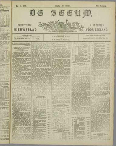De Zeeuw. Christelijk-historisch nieuwsblad voor Zeeland 1896-10-24