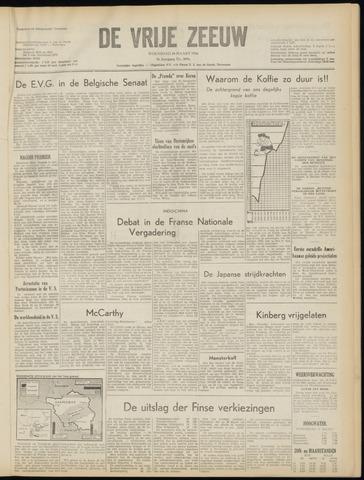 de Vrije Zeeuw 1954-03-10