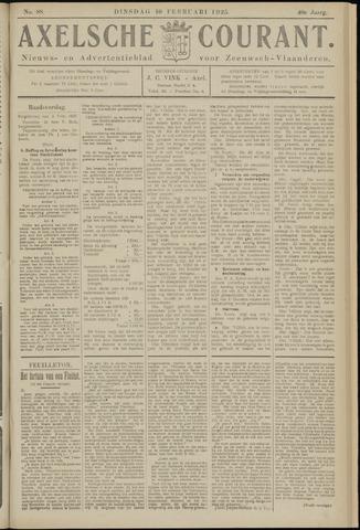 Axelsche Courant 1925-02-10