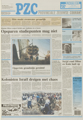 Provinciale Zeeuwse Courant 1995-08-01