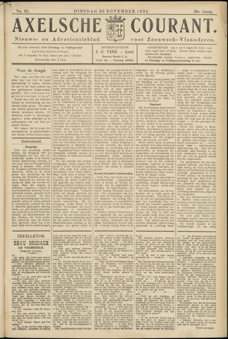 Axelsche Courant 1934-11-20