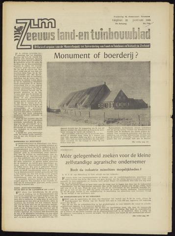 Zeeuwsch landbouwblad ... ZLM land- en tuinbouwblad 1965-01-22