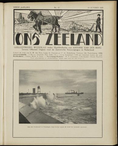 Ons Zeeland / Zeeuwsche editie 1929-10-19