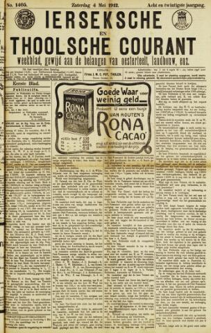Ierseksche en Thoolsche Courant 1912-05-04
