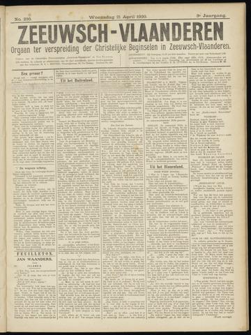 Luctor et Emergo. Antirevolutionair nieuws- en advertentieblad voor Zeeland / Zeeuwsch-Vlaanderen. Orgaan ter verspreiding van de christelijke beginselen in Zeeuwsch-Vlaanderen 1920-04-21