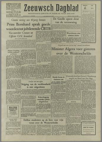 Zeeuwsch Dagblad 1958-06-06