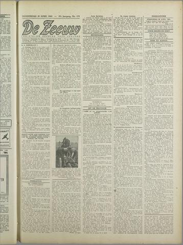 De Zeeuw. Christelijk-historisch nieuwsblad voor Zeeland 1943-04-29