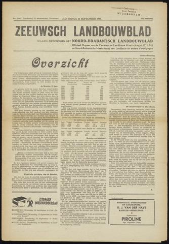 Zeeuwsch landbouwblad ... ZLM land- en tuinbouwblad 1954-09-11