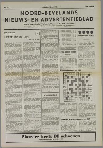 Noord-Bevelands Nieuws- en advertentieblad 1971-05-13